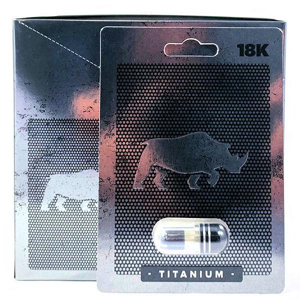 Rhino 18k Titanium 1pc