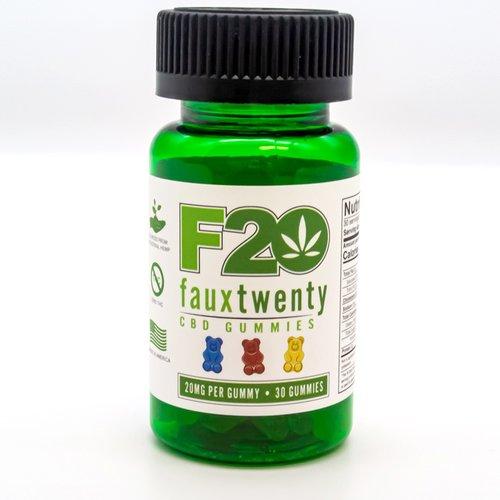 Faux 20 CBD Gummies 20mg Bottle 30ct