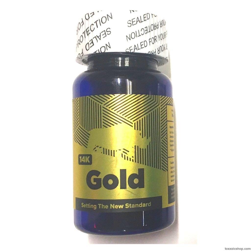 Rhino 14K Gold 6pc Bottle