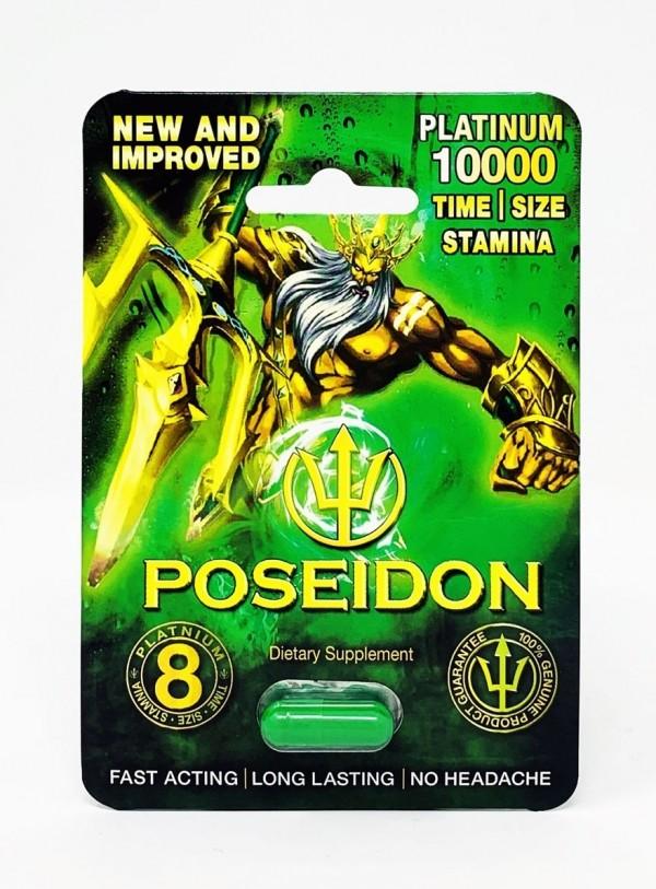 Poseidon Green 10,000 1 Piece male enhancement