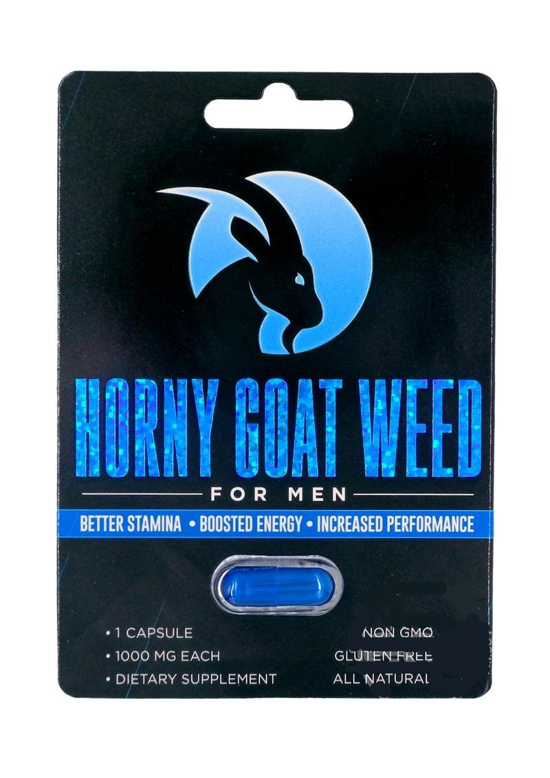 Horny Goat Weed For Men Enhancement Pill