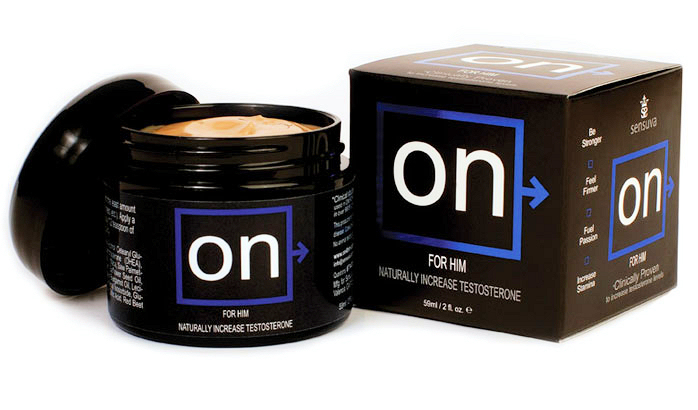 On For Him Testosterone Booster Creme