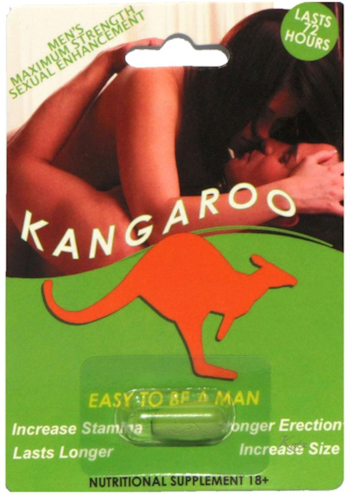 Kangaroo Men's Maximum Strength Sexual Enhancement 1ct Individual