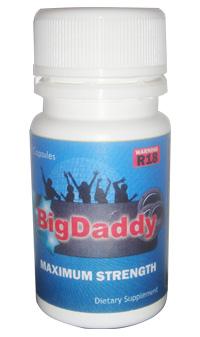 Big Daddy Energy Maximum Strength 12 Caps