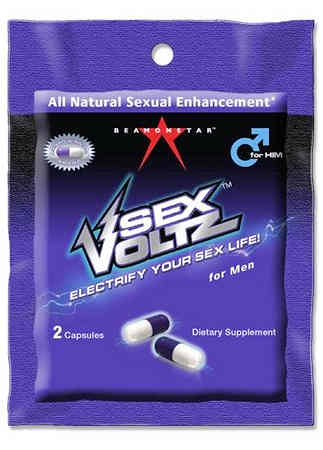 Sexvoltz Rapid Male Stimulant 2pack