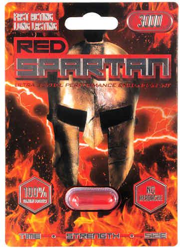 Red Spartan 3000 1pc