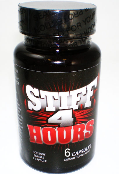 STIFF 4 HOURS 6 PC BOTTLE