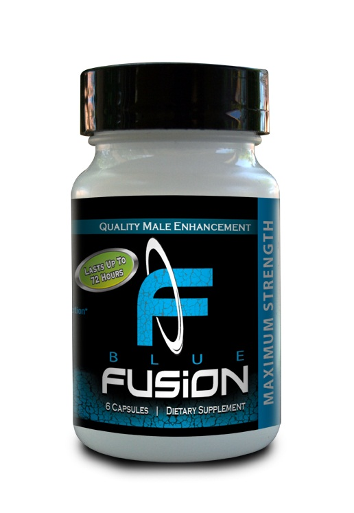 Blue Fusion Maximum Strength for Men 6pc Bottle
