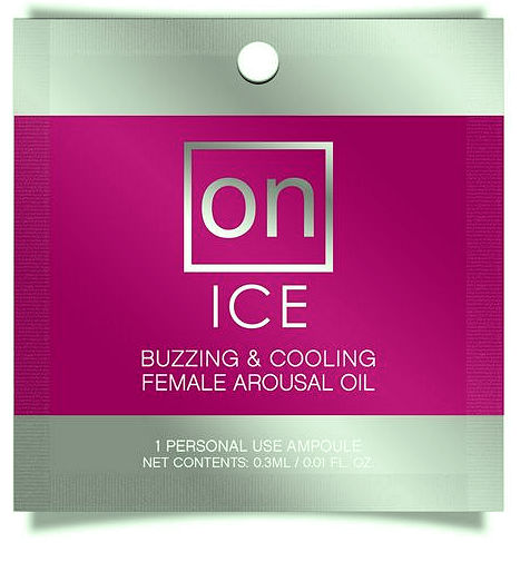 On Ice Ampoule Female Arousal Oil