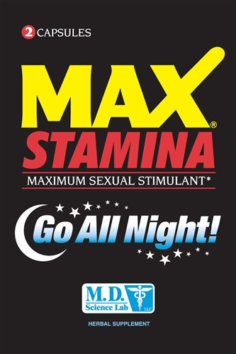 Max Stamina Maximum Sexual Stimulant 2pk