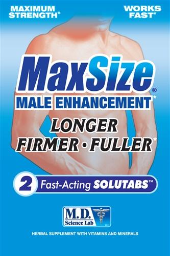 Max Size 2pk Male Enhancement