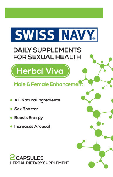 Swiss Navy Heral Viva 2ct Sex Booster