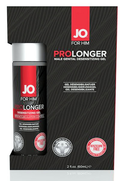 JO Prolonger Gel 2oz Achieve Lasting Pleasure
